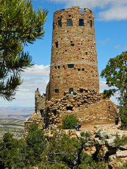 Desert View Watchtower. Designed by Mary Colter , Stanley O - May 2016