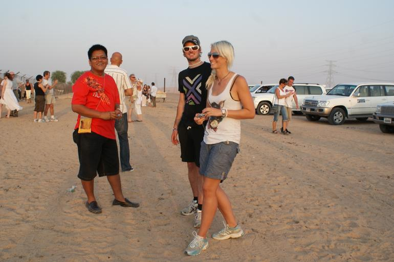 With my new friends - Dubai
