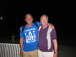 Our faithful and enthusiast guide (on the left). , Michael S - June 2013