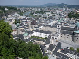 Looking over the city of Salzburg from the castle. , Thomas E - June 2011