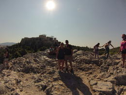 This is on top of the Aeropagus, a speaking platform above the Agora , James M - September 2014