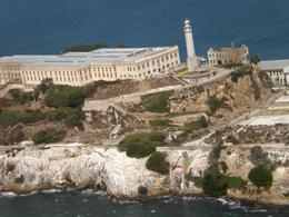 Alcatraz from the air, Fraser I - September 2009