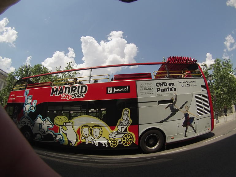 city Bus - Madrid