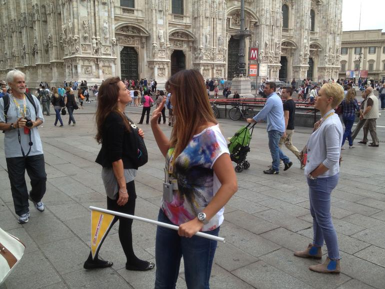 Fedra and her Flag - Milan