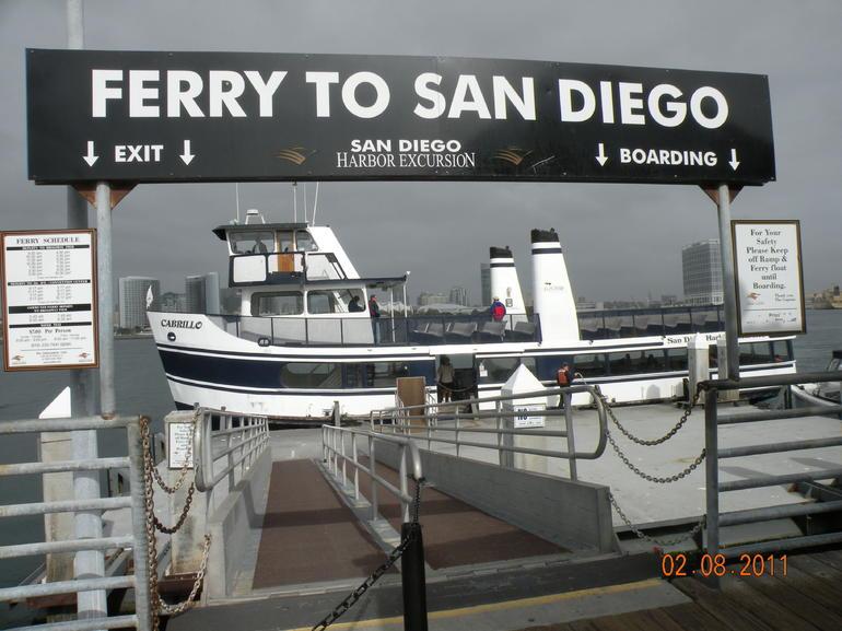 Ferry, Coronado - San Diego