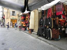 Colorful street market in Florence , kath4cubs - September 2015