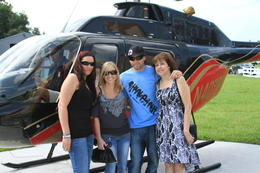 Family helicopter ride, charley - July 2011