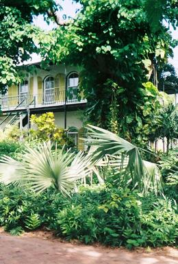 The gardens of the Hemingway House are peaceful and beautifully landscaped , Leah - May 2011