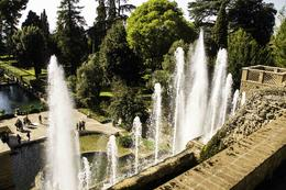 Main fountain at Villa D´este , Tor Levin H - October 2014