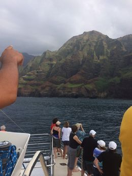 Na Pali coast, Shou W - February 2015