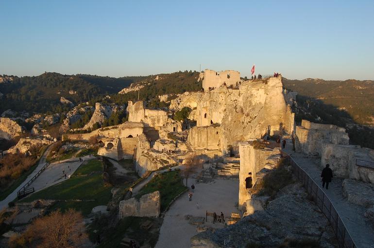 Ruins of Les Baux - Marseille