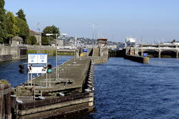Hiram Chittenden Locks: Informally called the Ballard Locks in Seattle - May 2011