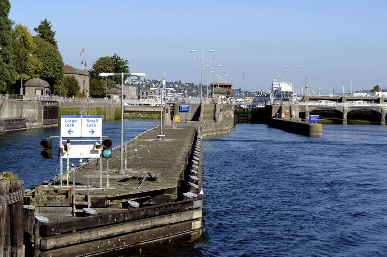 Hiram Chittenden Locks: Informally called the Ballard Locks in Seattle - Seattle