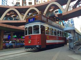 I love that vintage tram travelling along the busy districts of Hong Kong , Antoine S - February 2016