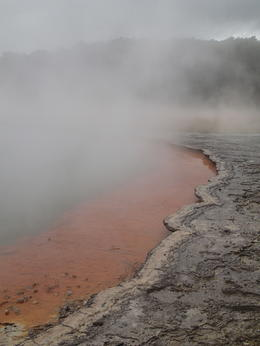 Wai-O-Tapu Thermal Wonderland , Brittany T - October 2013
