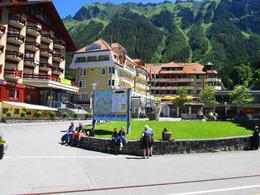 Half way up the mountain to Jungfraujoch you stop at this great little town, where people go to vacation. , Bonnie M - July 2014