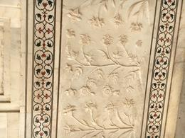 Beautiful marble work at Taj Mahal , Colin F - November 2016