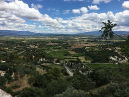 View from Gordes , Serena R - July 2017