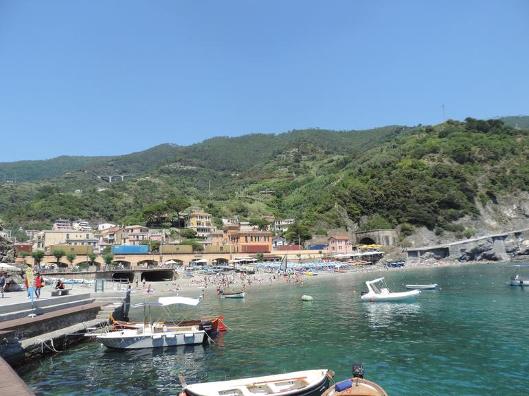 Cinque Terre Day Trip with Transport from Florence