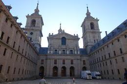parte arquitectónica del Monasterio del Escorial. , Ely - October 2017