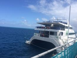 At Reef World view of our boat. , erinrosejonasson - September 2016