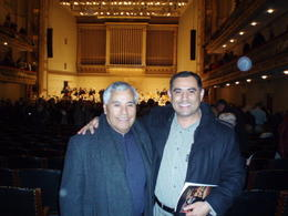 My fathe rand me at the Boston Simphony Hall , Alfredo M - November 2011