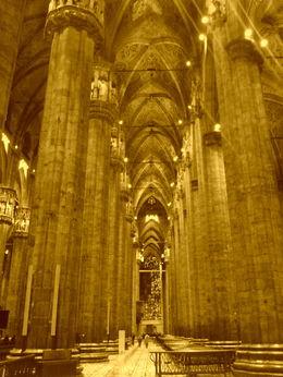 Interior of Duomo in Milan! , Irine S - January 2016