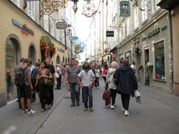 Hauptstrasse im Salzburg - September 2009