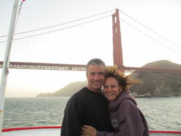 Getting ready to go under the bridge. Very windy and water kind of choppy....but very FUN!!! , Heidi V - June 2012