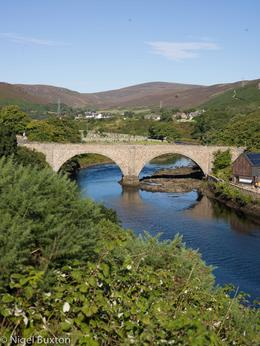 View of a small bridge at Helmsdale , Nigel J L B - September 2016