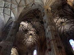 Gewölbe in der Kirche des Hieronymus-Klosters , Volkmar H - December 2014