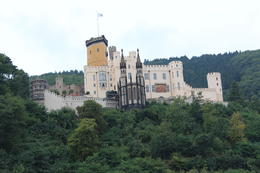 castle along Rhine River, south of Koblenz , Mark C - October 2012