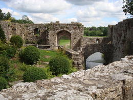 Some of the old ruins on the Leeds Castle grounds. , Jessica - July 2011