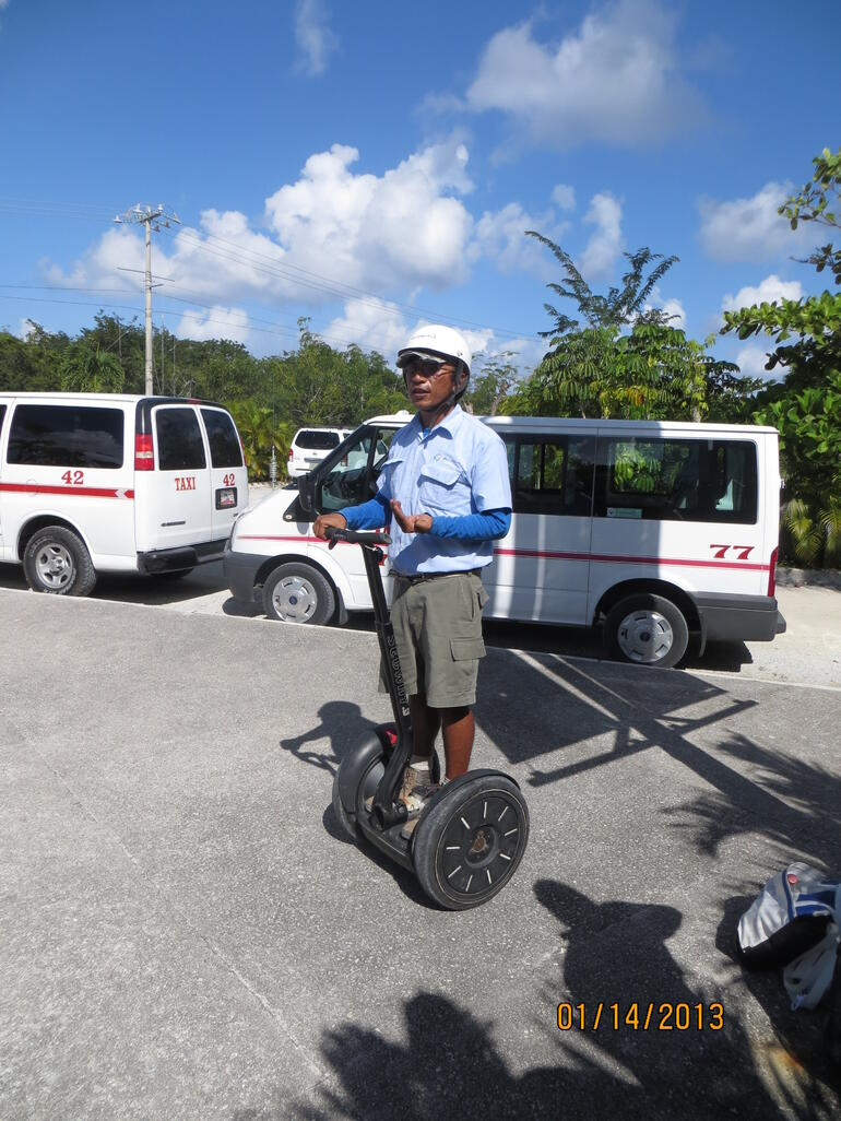Our Segway Mentor - Cozumel