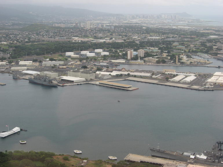 Pearl Harbor from Above - Oahu
