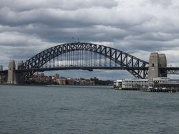 Looking back at the Harbour Bridge from Darling Harbour., Ainsley B - September 2010