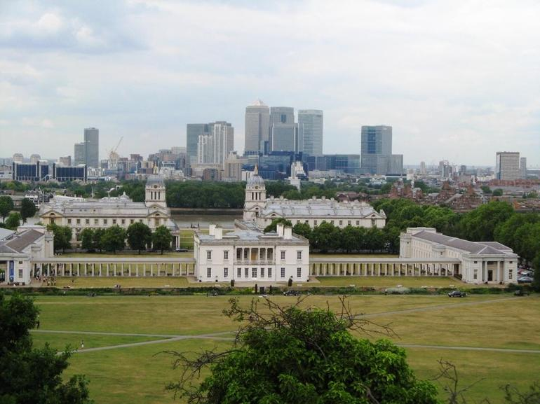 View from Greenwich Observatory - London