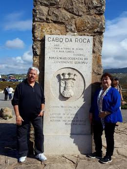 At Cabo da Roca with my hubby , marilely0813 - October 2016