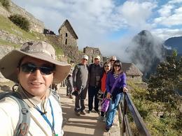 Group photo: Carlos and the group. , Puspa - July 2017
