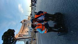 John and Eve Segwaying thru Rome , JOHN G - July 2017