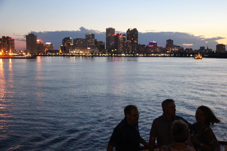 Steamboat Natchez Evening Jazz Cruise with Dinner Option