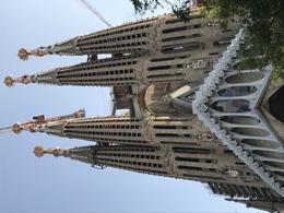 Outside view of Sagrada Familia , Mousey - November 2017