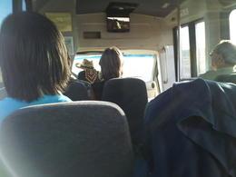 tour van. , Angelica T - October 2012