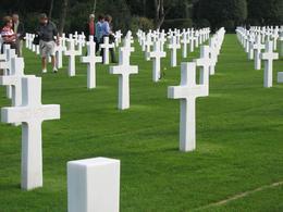 American cemetery, Martin F. O - September 2008