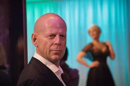 Bruce Willis, very life like , Christine A - September 2012