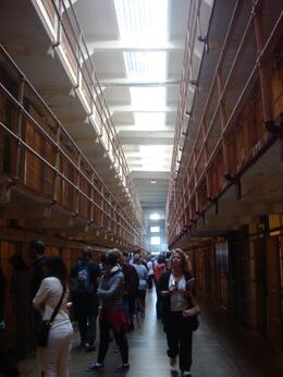 alcatraz...the audio tour was brilliant!! very informative, Lorn P - September 2010