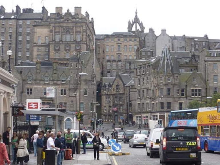 Edinburgh the city - London