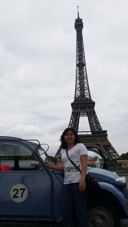 View of Eiffel tower , RIZZA Y - July 2014