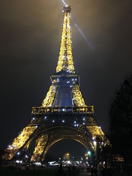 Eiffel Tower , Cristal L B - December 2015