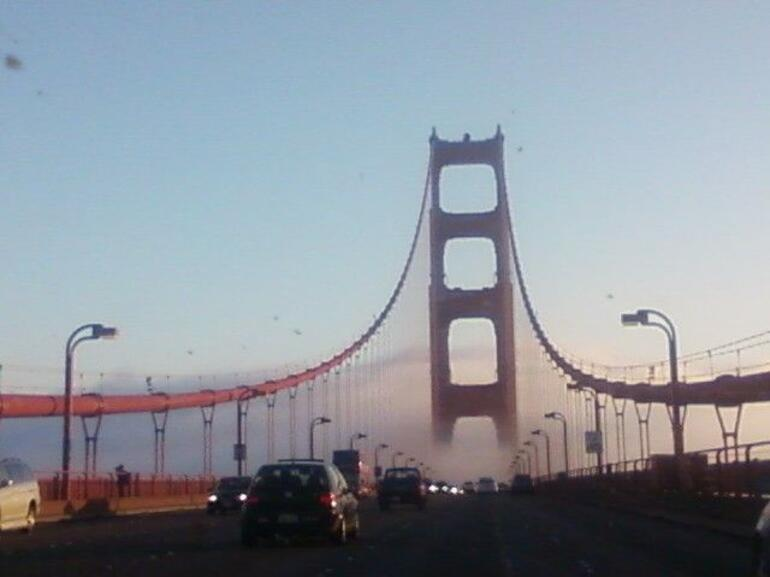 Fog on the Golden Gate Bridge - San Francisco